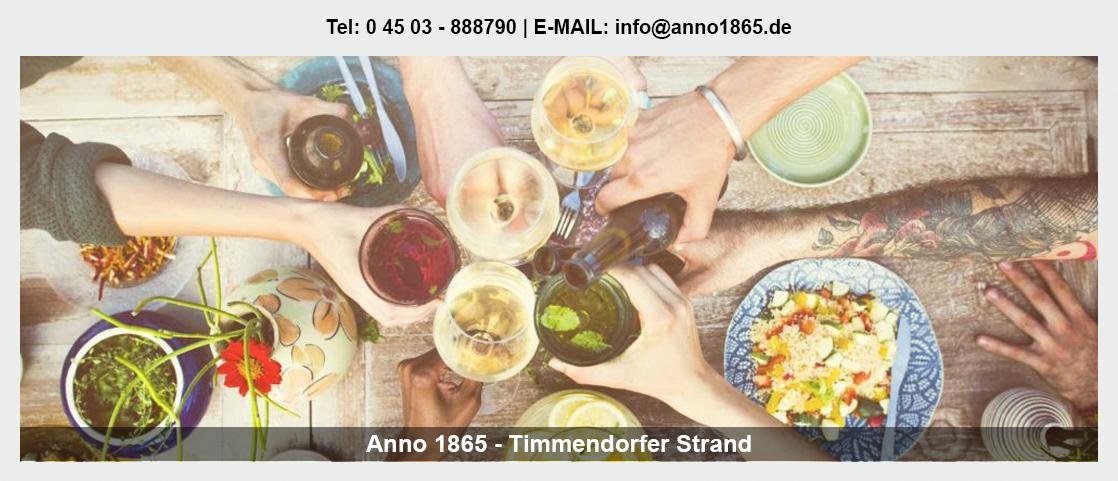 Geburtstage feiern Schashagen - Anno 1865: Deutsche Küche, Betriebsfeier, Firmenevents,
