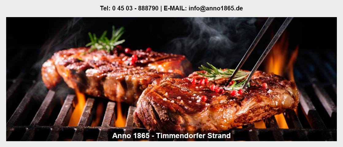Geburtstage feiern für Süsel - Anno 1865: Burger, KonAnno 1865tion Location, Steakhaus,