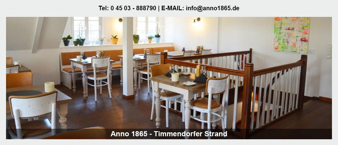 Restaurant in Travenhorst - Anno 1865: Betriebsfeier, Hochzeitslocation, Steakhaus,